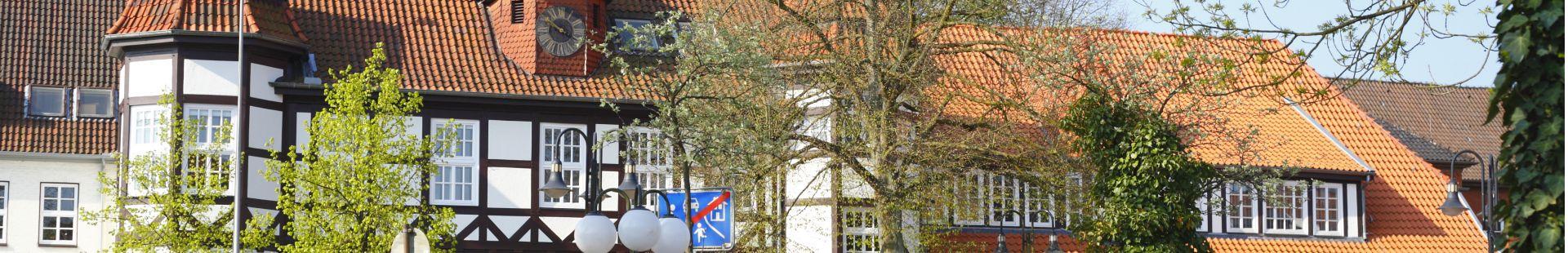 Kreishaus in Syke (Eingang im Bereich Fußgängerzone)