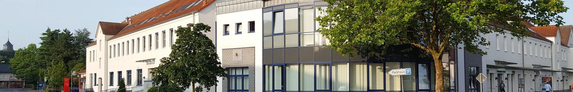 BürgerService des Landkreises in Diepholz (Gebäude Alte Post in der Prinzhornstr. / Ecke Wellestr.)
