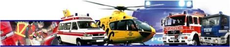 Feuerwehr, THW, Hubschrauber